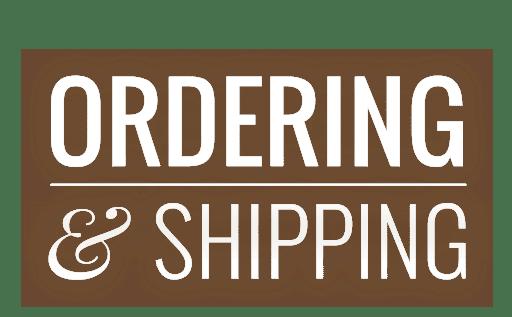Ordering & Shipping