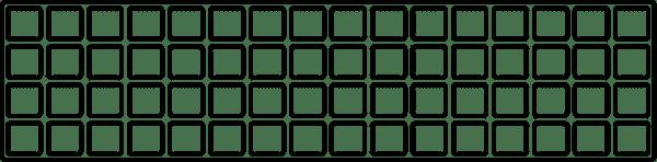 64 half tray diagram