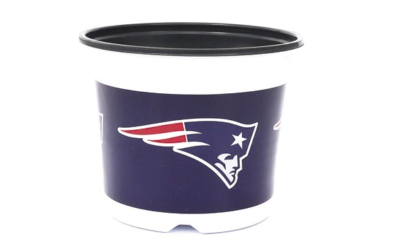 7.5 Sporticulture: Patriots logo Sold Individual