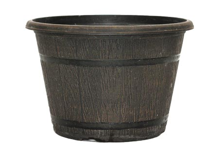9.0 Fall Whiskey Barrel Planter Sold Individual