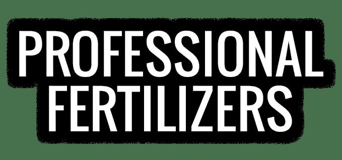 Professional Fertilizers