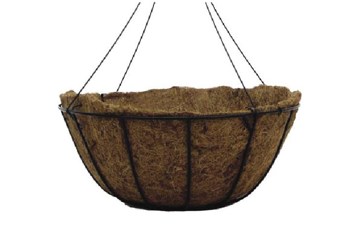 12.0 Coco Fiber Combo Hanging Basket Sold Individual