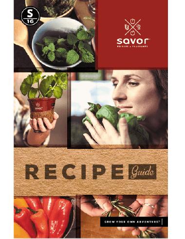 Savor™ Recipe Guide